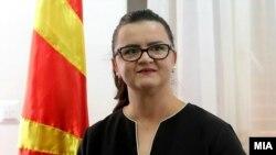 Nënkryetarja e Kuvendit të Maqedonisë së Veriut,Frosina Remenski.