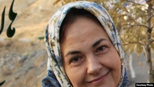 Iranian opposition activist Haleh Sahabi, who died shortly after her father's funeral.