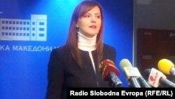 Пратеничката Ермира Мехмети Деваја од ДУИ.