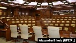 Sala de ședințe a Parlamentului