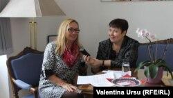 Valentina Ursu de vorbă cu Heidemaria Gurer