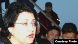 Jailed Kazakh lawyer Natalya Sokolova