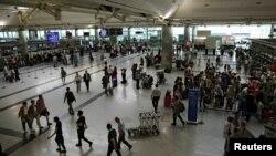 Пассажирский терминал стамбульского аэропорта имени Ататюрка после возобновления работы. 29 июня 2016 года.