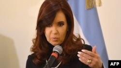کريستينا فرناندز دو کريشنر، رئيس جمهور آرژانتین