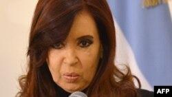президент Аргентины Кристина Киршнер