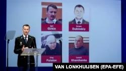 Представитель Совместной следственной группы по расследованию катастрофы рейса MH17 рассказывает об обвиняемых, доказательства против которых JIT считает исчерпывающими, 19 июня 2019 года