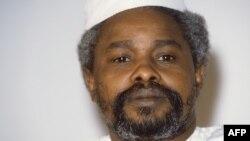 Хиссен Хабре, в бытность президентом Чада. 17 января 1987 года.