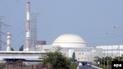 Iran - Pamje e përgjithshme e centralit bërthamor për prodhimin e energjisë elektrike në Bushehr (Ilustrim)