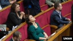Засідання Верховної Ради. Київ, 6 жовтня 2016 року
