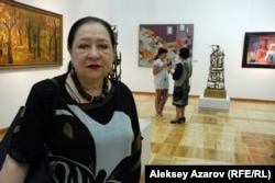 Өнертану ғылымы кандидаты Елизавета Малиновская. Алматы, 27 тамыз 2015 жыл.