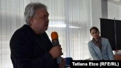 Valeriu Jereghi și fiul său, cineastul Cristian Jereghi