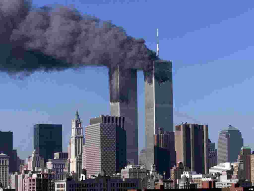 8 лет назад 11 сентября 2001 года террористы атаковали здания Всемирного торгового центра в Нью-Йорке