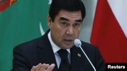 Түркіменстан президенті Гурбангулы Бердімұхаммедов.