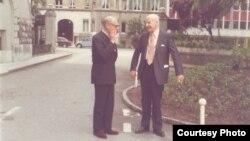 Владимир Варшавский и Юрий Иваск. 1960-е