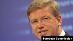 Komisionari për zgjerim i Bashkimit Evropian, Stefan Fuele.