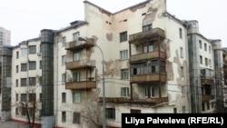 Дом на улице Гаврикова. Узнаваемый образец конструктивизма в плохом состоянии