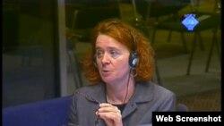 Svjedokinja Schmitz na suđenju Radovanu Karadžiću, 26. ožujak 2012.