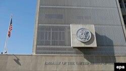 Здание посольства США в Тель-Авиве, январь 2017 года (архивное фото)