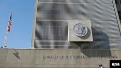 Американската амбасада во Тел Авив.