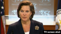 U.S. State Department spokeswoman Victoria Nuland