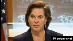 U.S. State Department spokesperson Victoria Nuland
