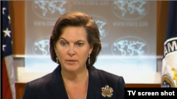 ویکتوریا نولند، سخنگوی وزارت خارجه آمریکا.