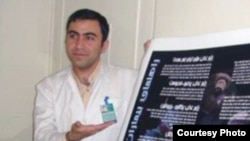 Iranian doctor Ramin Pourandarjani, who died on November 10