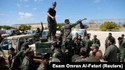 Солдаты «Ливийской национальной армии»