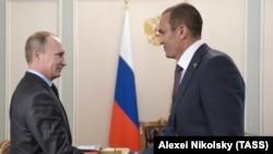 Vladimir Putin və Mikhail Ignatyev 2014-cü ildə