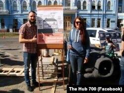 Учасники «The Hub 700» презентують проект культурного простору на день міста в Черкасах