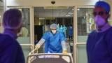 بخش بیماران کرونا در بیمارستان کامکار شهر قم