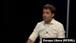 Nicu Popescu în cursul interviului cu Europa Liberă