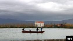 Fshati Dajç në rrethinën e Shkodrës, 12 janar 2010.