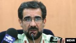 به گفته مقامات قضایی ایران، سرتیپ رضا زارعی هم اکنون در بازداشت به سر می برد.(عکس: مهر)