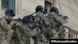 Forcat speciale të Azerbajxhanit gjatë një aksioni të mëparshëm