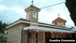 Церковь в армянском селе Вакифли в Турции
