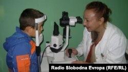 Доктор Елизабета Спасиќ, офтамолог во Одделението за очни болести при Општата болница во Куманово.