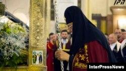 Ілія II на різдвяній службі Божій, Тбілісі, 7 січня 2014 року