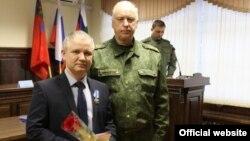 Фарзон Салимов с Александром Бастрыкиным