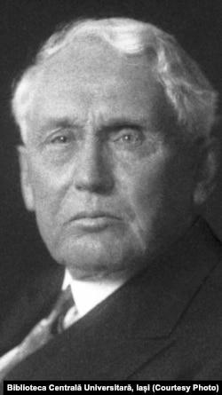 Frank B. Kellogg, Secretar de Stat al SUA. Sursa: Biblioteca Centrală Universitară, Iași