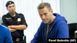 Алексей Навальний Москвадаги суд залида. 2019, 24 июль