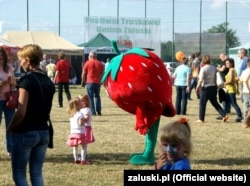 Фестиваль полуниці у Залускі (Польща)