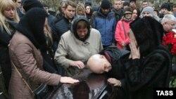 Похороны 33-летнего россиянина Тимура Миллера, погибшего в авиакатастрофе в Египте. Петербург, 6 ноября 2015 года.
