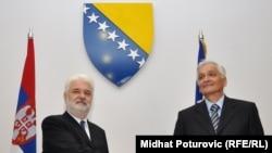 Mirko Cvetković i Nikola Špirić