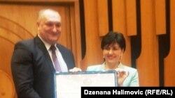 Siniša Gataraić i Semiha Borovac, foto: Dženana Halimović
