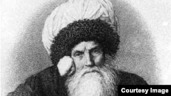 Imam Shamil-A photo of engraving, illustration,