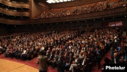 Armenia - The founding congress of the opposition Armenian National Congress party in Yerevan, 13Apr2013.