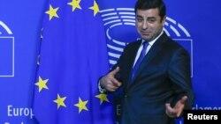 Лідер Народної демократичної партії Селахаттін Демірташ у Європарламенті, січень 2016 року