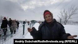 Ілюстраційне фото: пропускний пункт, КПВВ Станиця Луганська. Січень 2019 року