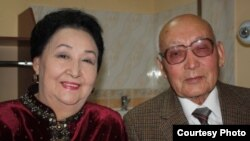 Сатыбалды жана Мираида Далбаевдер.